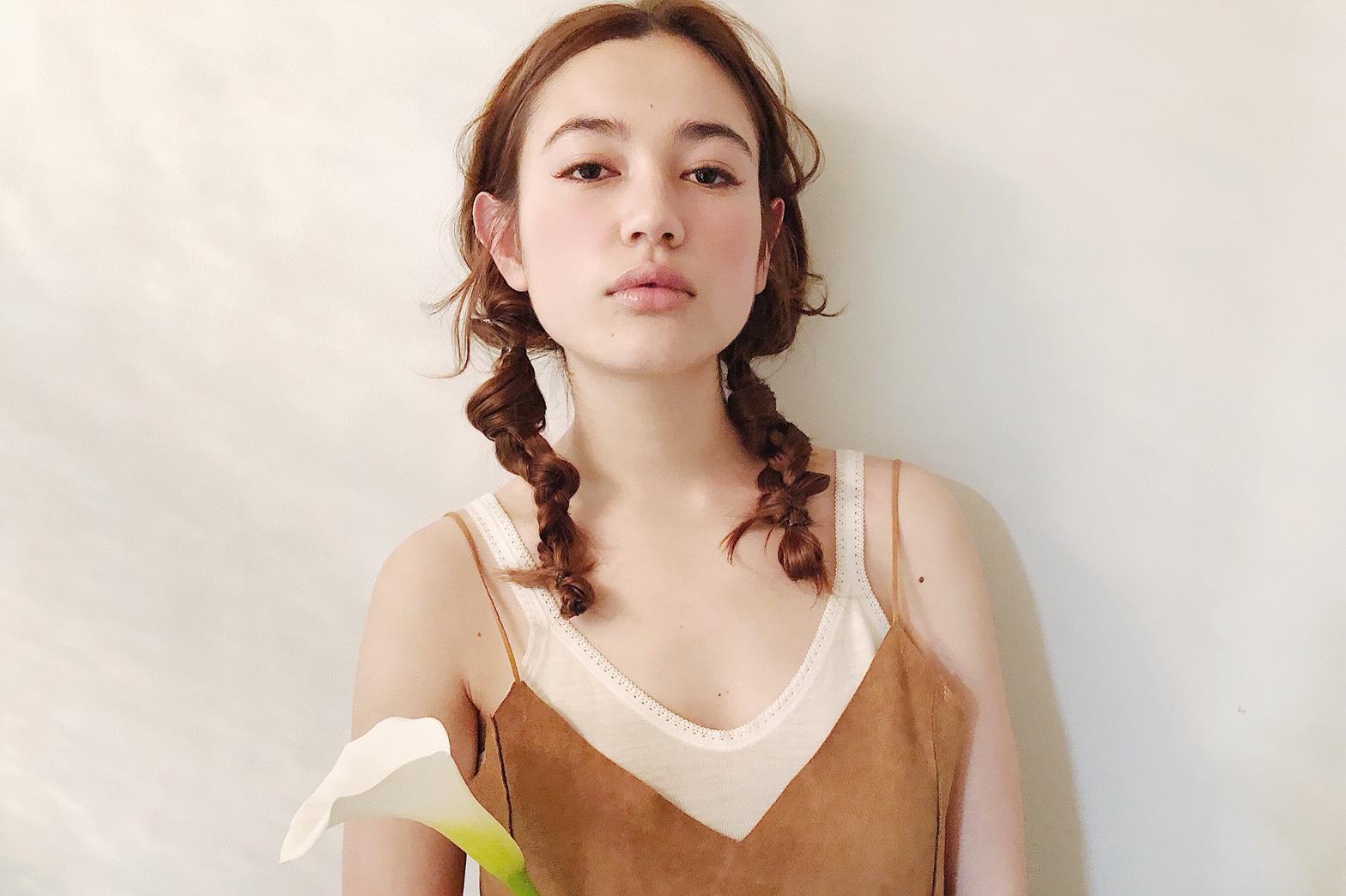 """【髪と花】カラー """"華麗なる美"""" """"乙女のしとやかさ"""" """"清浄"""""""