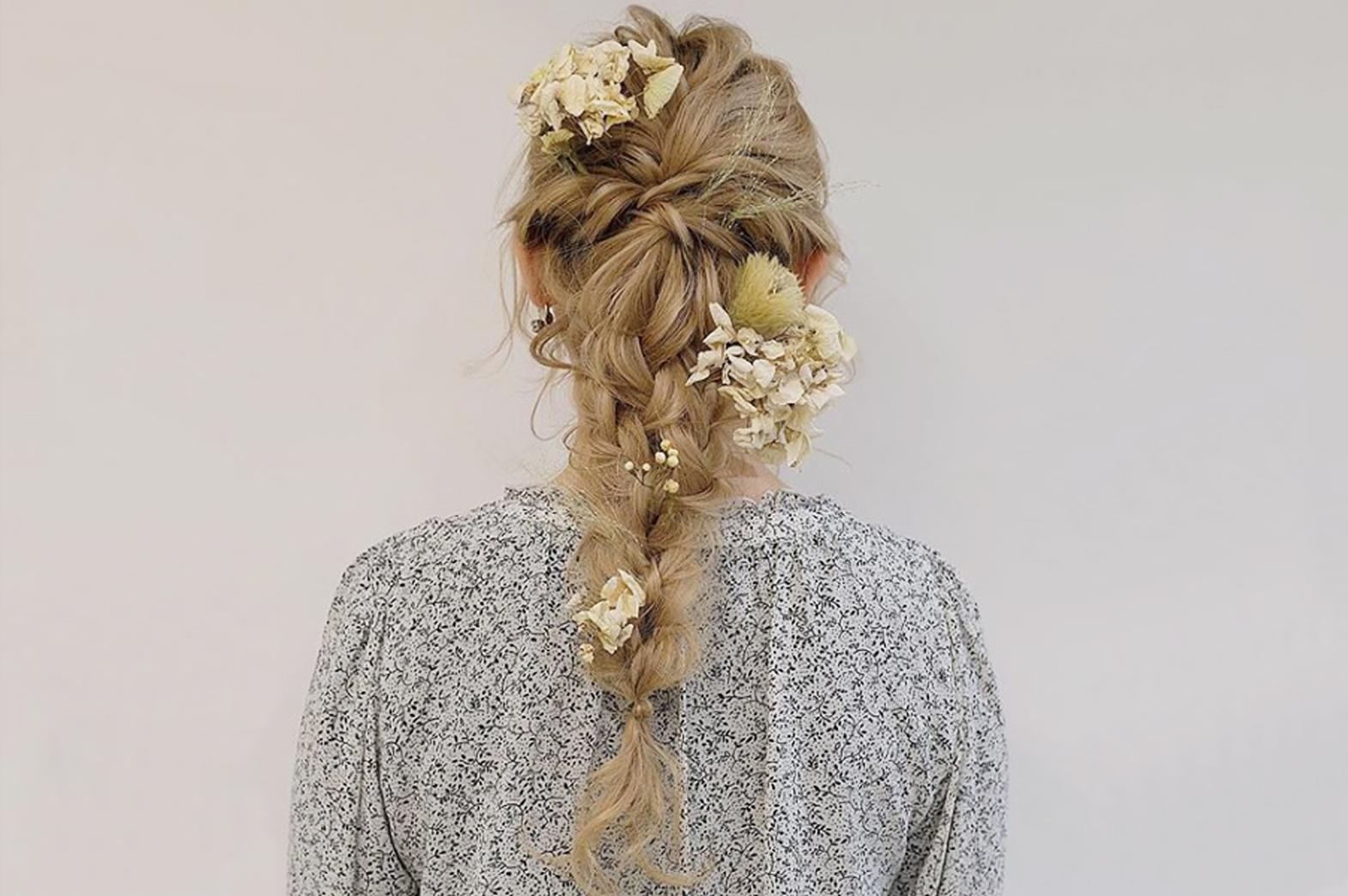 【髪と花】Styling Hair