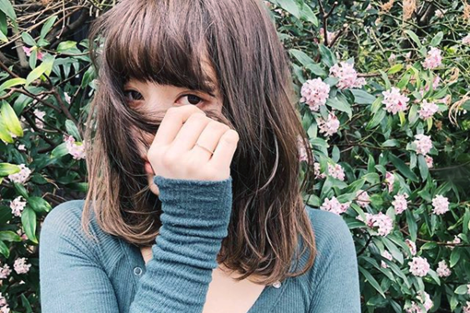 【髪と花】Perm Hair