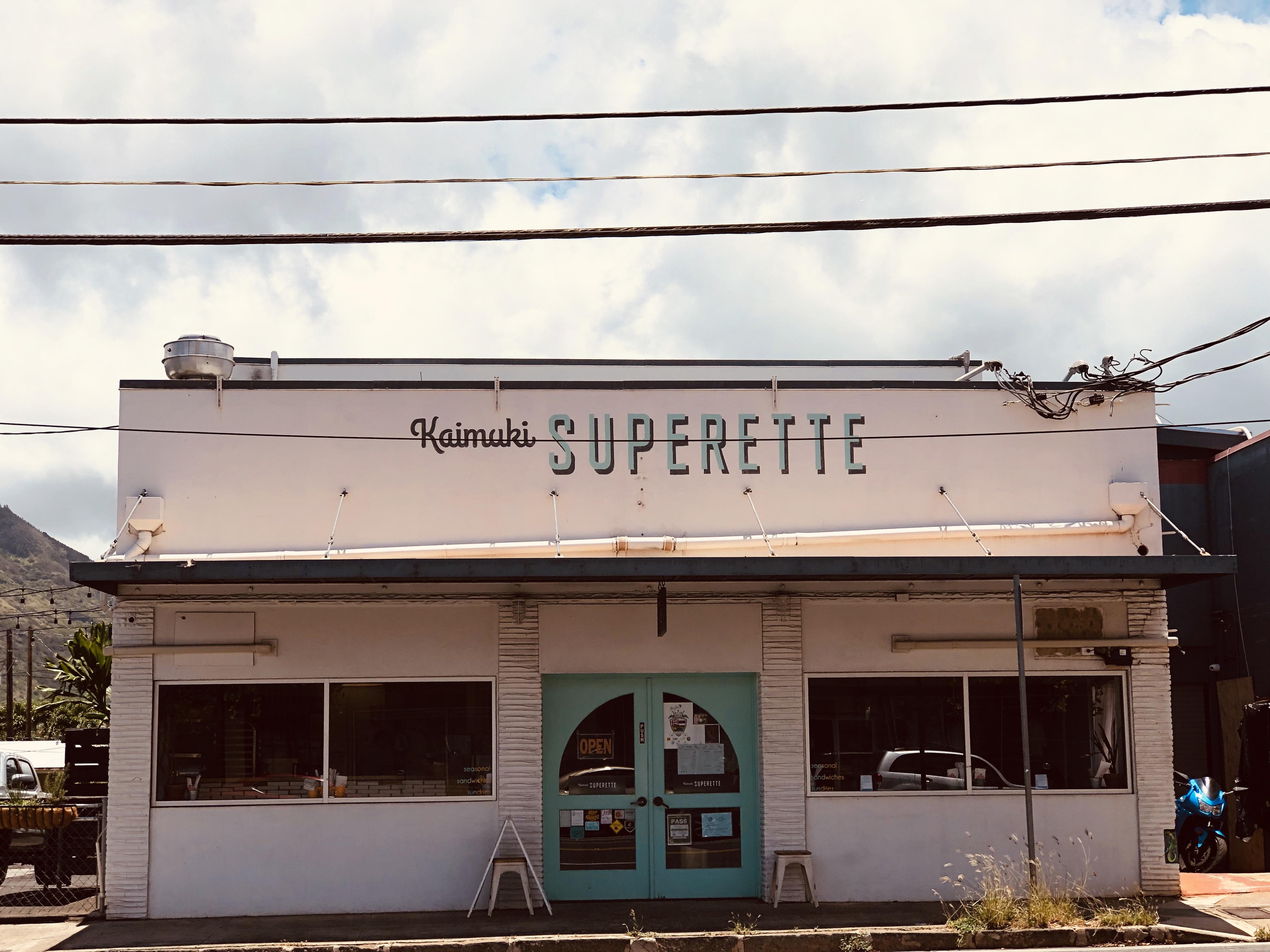 Kaimuki Superette.
